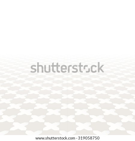 Abstract background with perspective. Tiling floor. #319058750