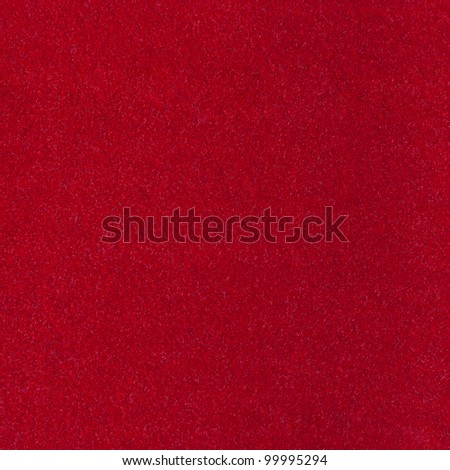 Abstract background with red texture, velvet fabric, full frame, close-up