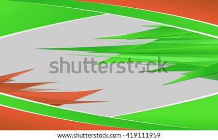 Abstract background with sharp spikes.
