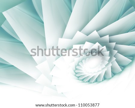 abstract background with spiral squares