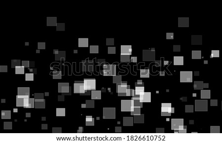 abstract background with squaresblack color bokeh wallpaper Photo stock ©