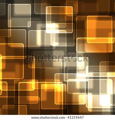 Abstract background with transparent squares. - stock photo