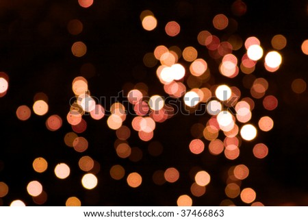 Abstract background with unfocused light spots