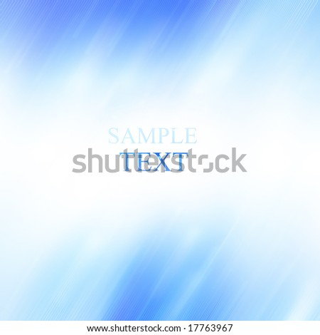 Abstract background with white and blue