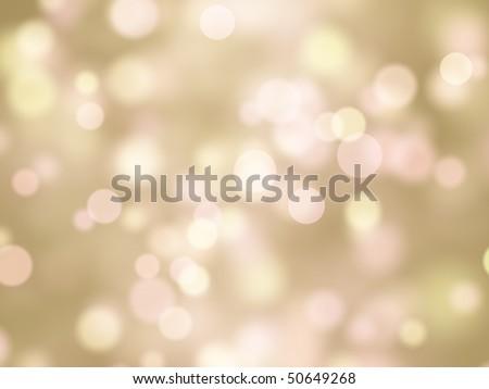 abstract background yellow pink bokeh circles - stock photo
