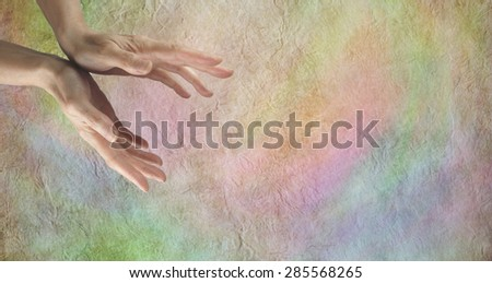 Abstract backgrounds - Three different multicolored website header banners