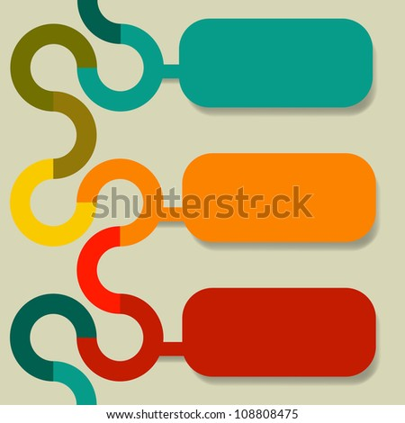 Abstract banners - stock photo