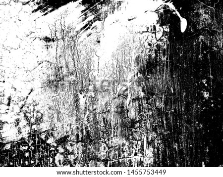 abstract black and white background with grunge texture