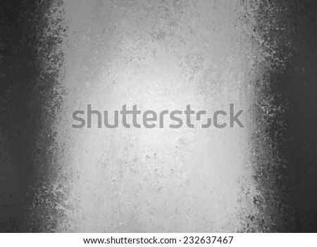 abstract black and white background with side border color and vintage grunge texture design, silver background, gray center stripe with black sidebars #232637467