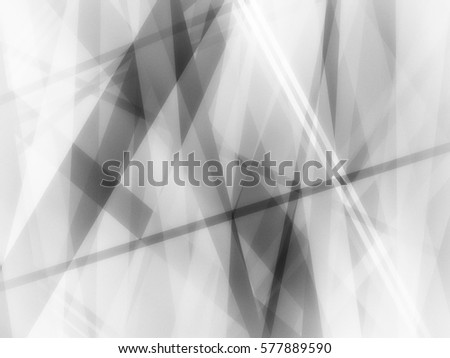 abstract black and white background with thin and thick diagonal intersecting lines in random modern art design