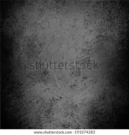 abstract black background, gray parchment texture or soft distressed vintage texture with light gray center and darker black border, faded gray paper, elegant gray website template