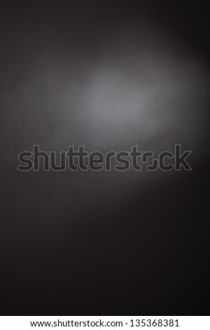 abstract black background, old black vignette border frame on white gray background,