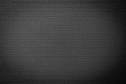 abstract black grille pattern and texture for background, copy space and text fill