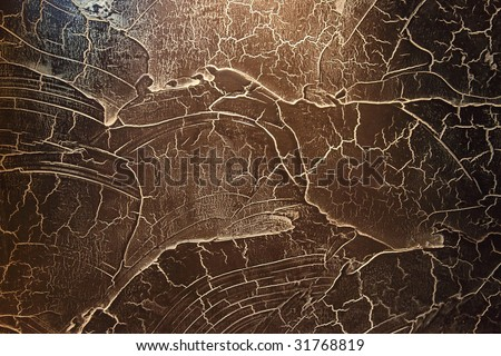 Abstract black interior decorative wall as background or backdrop.