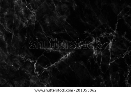 Abstract black marble patterned (natural patterns) texture background for design.