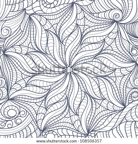 Drawings Of Flowers In Black And White Abstract black white drawing
