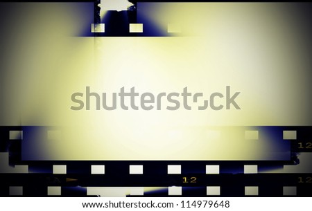 abstract blank film strip background, texture