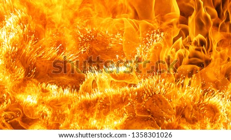 abstract blaze fire flame texture background #1358301026