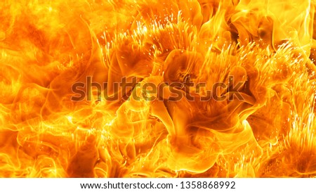 abstract blaze fire flame texture background #1358868992