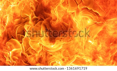 abstract blaze fire flame texture background #1361691719