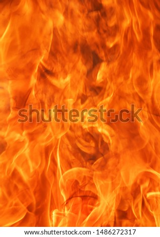 Abstract blaze fire flame texture background. #1486272317