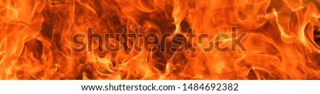 Abstract blaze fire flame texture background.banner size #1484692382
