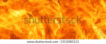 abstract blaze fire flame texture for banner background #1352080121