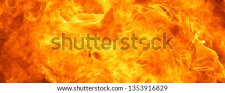 abstract blaze fire flame texture for banner background #1353916829
