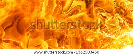 abstract blaze fire flame texture for banner background #1362503450
