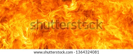 abstract blaze fire flame texture for banner background #1364324081