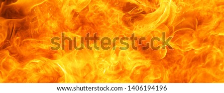 abstract blaze fire flame texture for banner background #1406194196