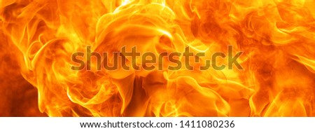 abstract blaze fire flame texture for banner background #1411080236