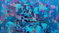 Abstract blend of colors