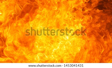 abstract blow up blaze, flame, fire element for use as a texture background design concept, hd ratio, 16x9 #1453041431