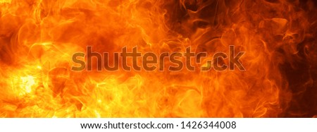 abstract blow up blaze, flame, fire element for use as a texture for banner background design concept #1426344008