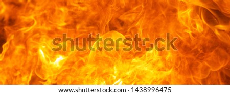 abstract blow up blaze, flame, fire element for use as a texture for banner background design concept #1438996475