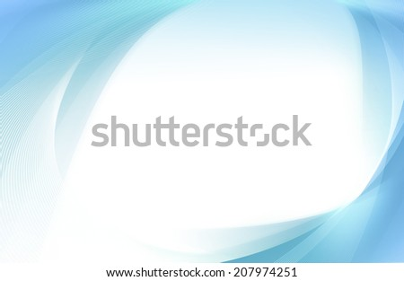 Abstract blue and cyan background