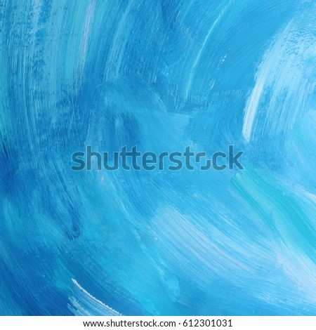 abstract blue and white acrylic textured background selected focus