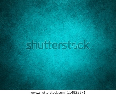 abstract blue background classic dark paper, bright center spotlight, vintage grunge background texture, black paper edge layout design ad, website template banner, elegant background teal color page
