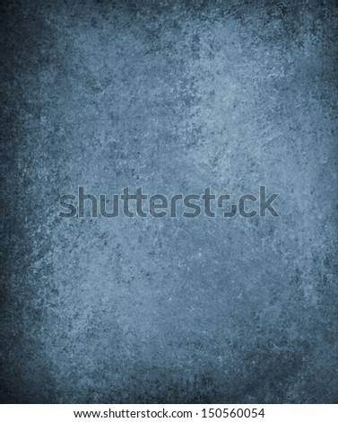 abstract blue background country or denim blue jean color, vintage grunge background texture wall, old paint brushed texture, distressed paper graphic art design layout for web template or brochure ad