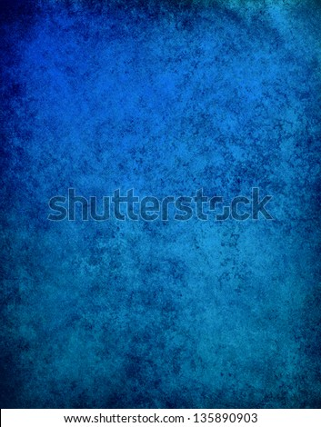 abstract blue background cracked paint wall black frame vintage grunge background texture, distressed dark border, website template background design layout, sapphire blue paper graphic art image