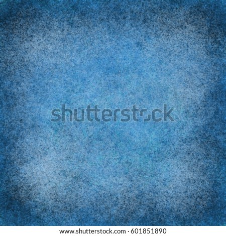 Abstract blue background. Digital structure of painting. Winter background. #601851890