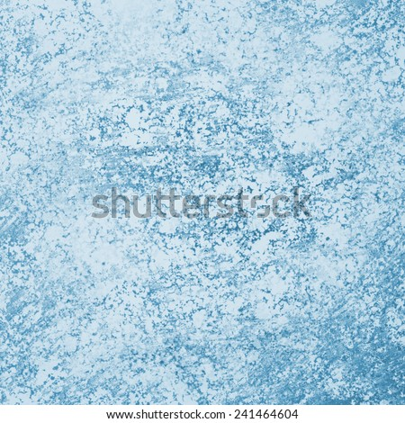 abstract blue background, distressed old vintage style background design, elegant white sponged texture