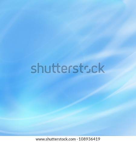 Abstract blue background for technology products