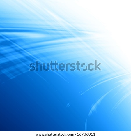 abstract blue background formed by white and blue