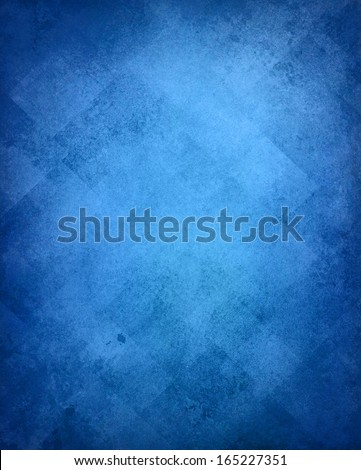 abstract blue background image pattern design on old vintage grunge background texture, blue paper diagonal block pattern with geometric shapes and line design elements, luxury background card, web ad