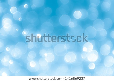 Abstract blue background with bokeh, bokeh background, sparkle bokeh background