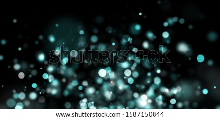 Abstract blue background with bokeh, bokeh background, Sparkle bokeh, Blue background, Blue Bokeh