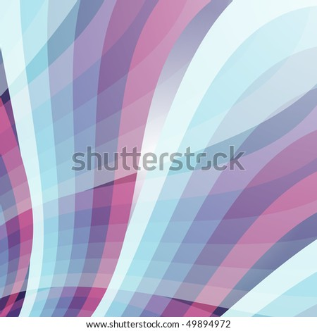 Abstract blue background with cross colorful rays