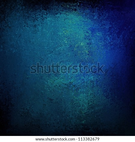 abstract blue background with vintage grunge background texture design with elegant sponge paint on wall illustration for scrapbook paper, or web background templates, grungy old background paint